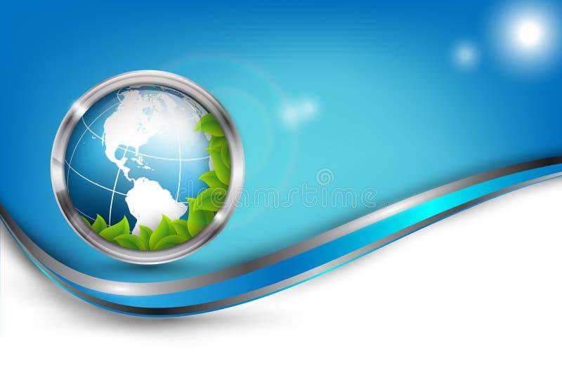Αφηρημένο περιβαλλοντικό διανυσματικό υπόβαθρο απεικόνιση αποθεμάτων