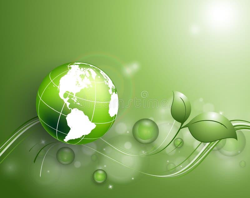 Αφηρημένο περιβαλλοντικό διανυσματικό υπόβαθρο διανυσματική απεικόνιση