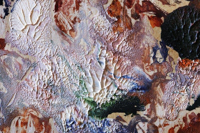 αφηρημένο πετρέλαιο ανασκόπησης που χρωματίζεται ελεύθερη απεικόνιση δικαιώματος