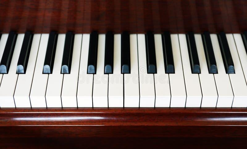 αφηρημένο πιάνο πληκτρολογίων κινηματογραφήσεων σε πρώτο πλάνο ανασκόπησης στοκ φωτογραφία με δικαίωμα ελεύθερης χρήσης