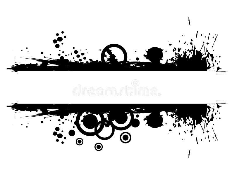 αφηρημένο πλαίσιο grunge διανυσματική απεικόνιση