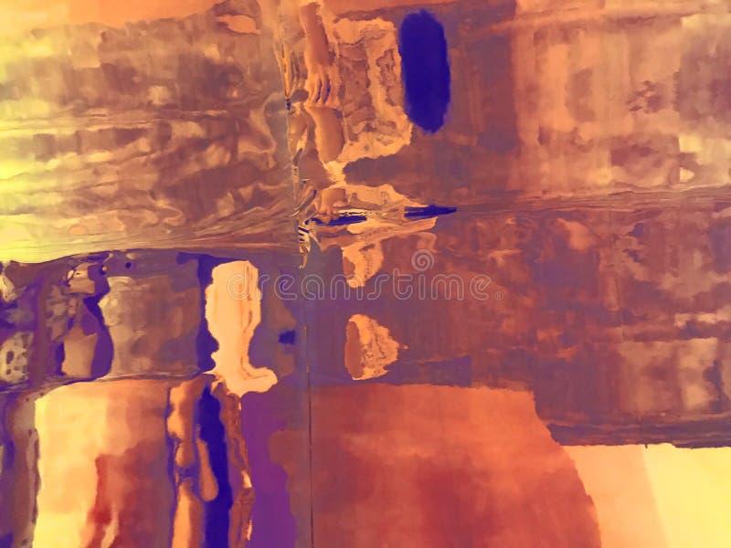 Αφηρημένο πολύχρωμο φόντο παραμόρφωσης με άπειρα σημεία στοκ εικόνα με δικαίωμα ελεύθερης χρήσης