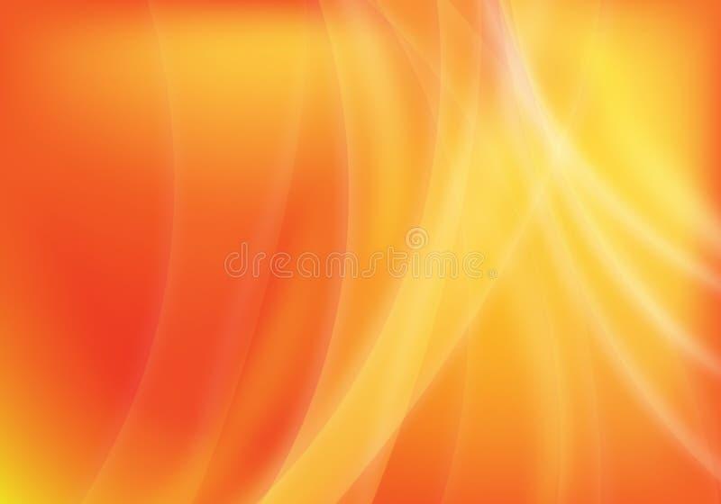 αφηρημένο πορτοκάλι ανασ&kap απεικόνιση αποθεμάτων