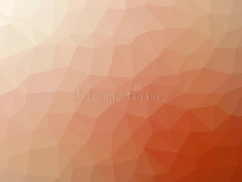 Αφηρημένο πορτοκαλί άσπρο διαμορφωμένο πολύγωνο υπόβαθρο κλίσης διανυσματική απεικόνιση