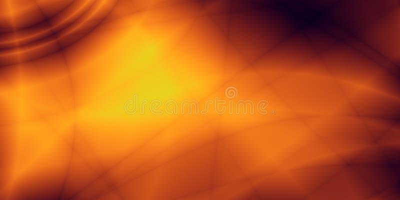 Αφηρημένο πορτοκαλί τρελλό ευρύ σχέδιο ταπετσαριών ελεύθερη απεικόνιση δικαιώματος