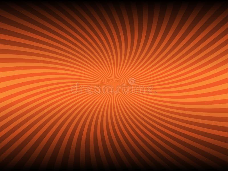 Αφηρημένο πορτοκαλί καμμένος υπόβαθρο χρώματος απεικόνιση αποθεμάτων