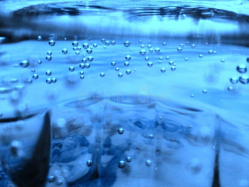 Αφηρημένο ποτήρι του νερού στοκ φωτογραφία με δικαίωμα ελεύθερης χρήσης