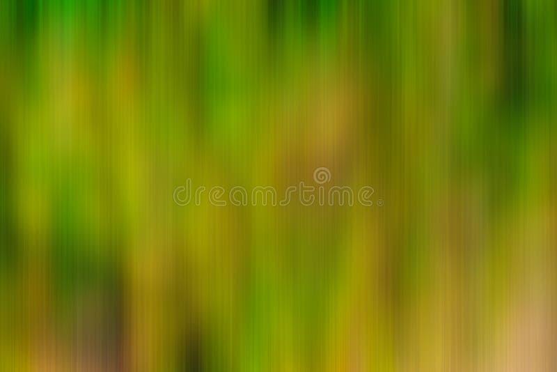 Αφηρημένο πράσινο και κίτρινο κάθετο υπόβαθρο θαμπάδων κινήσεων ελεύθερη απεικόνιση δικαιώματος