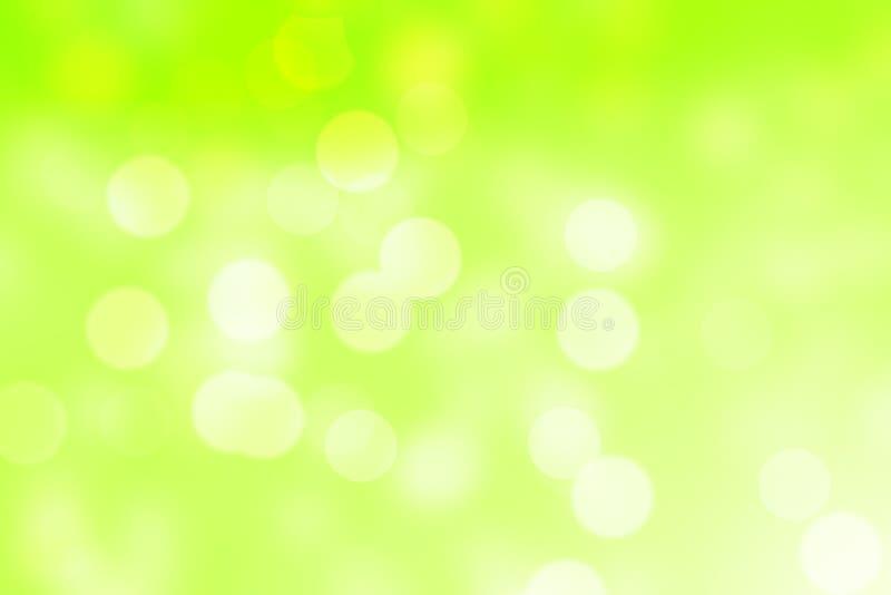Αφηρημένο πράσινο κυκλικό υπόβαθρο bokeh διανυσματική απεικόνιση
