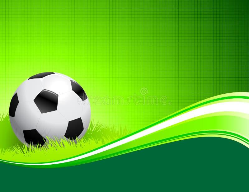 αφηρημένο πράσινο ποδόσφαι& ελεύθερη απεικόνιση δικαιώματος
