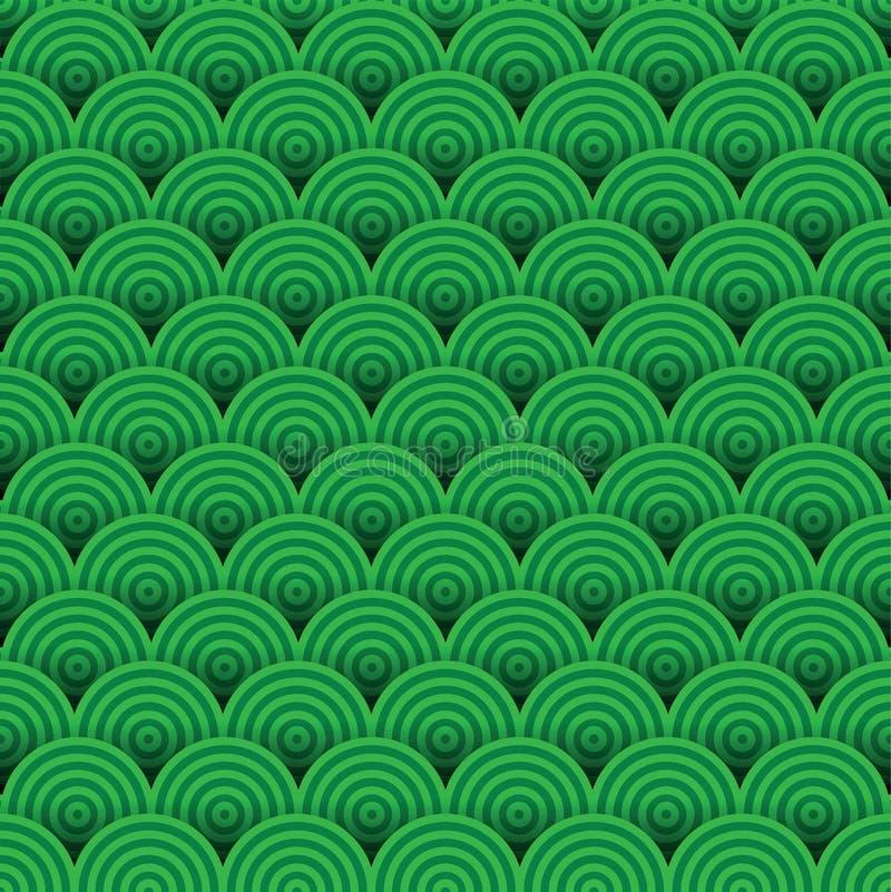 αφηρημένο πράσινο πρότυπο άν&eps ελεύθερη απεικόνιση δικαιώματος
