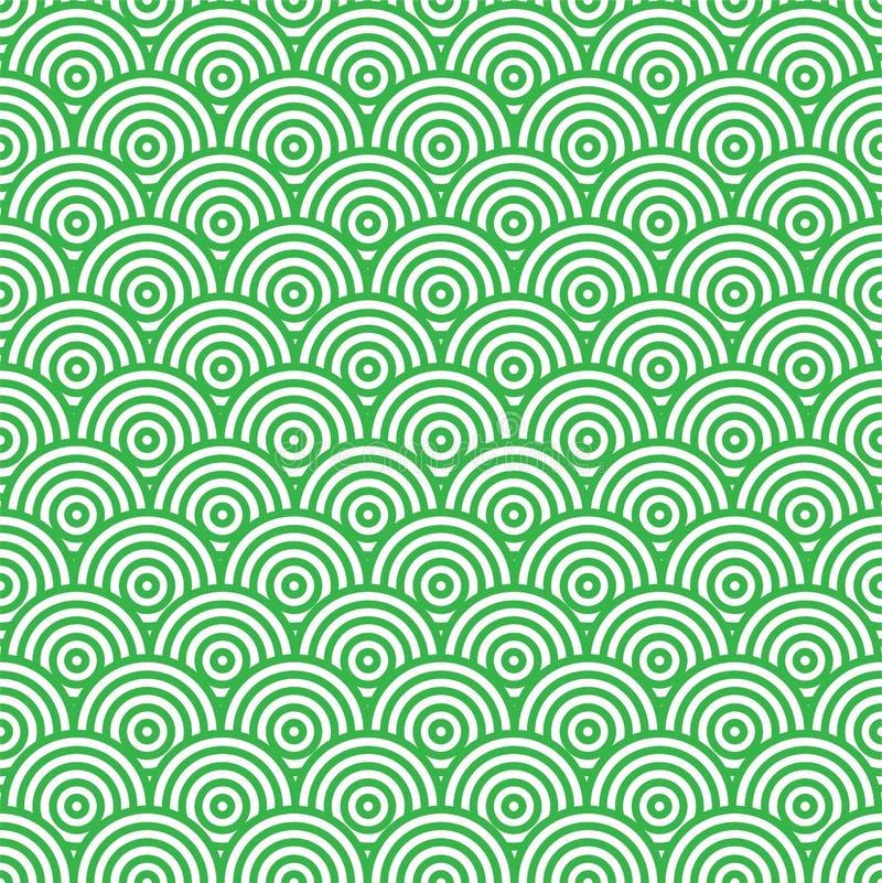 αφηρημένο πράσινο πρότυπο άν&eps απεικόνιση αποθεμάτων
