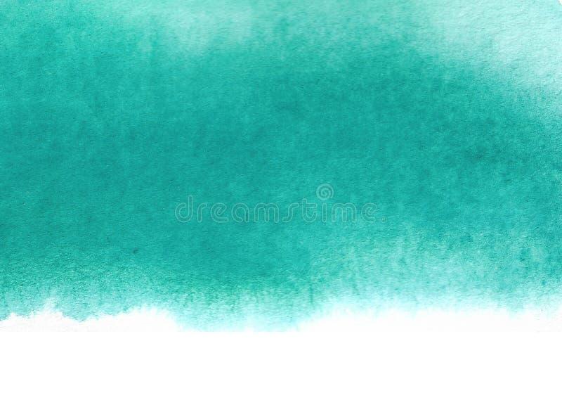 αφηρημένο πράσινο watercolor ανασκό&pi στοκ φωτογραφία με δικαίωμα ελεύθερης χρήσης