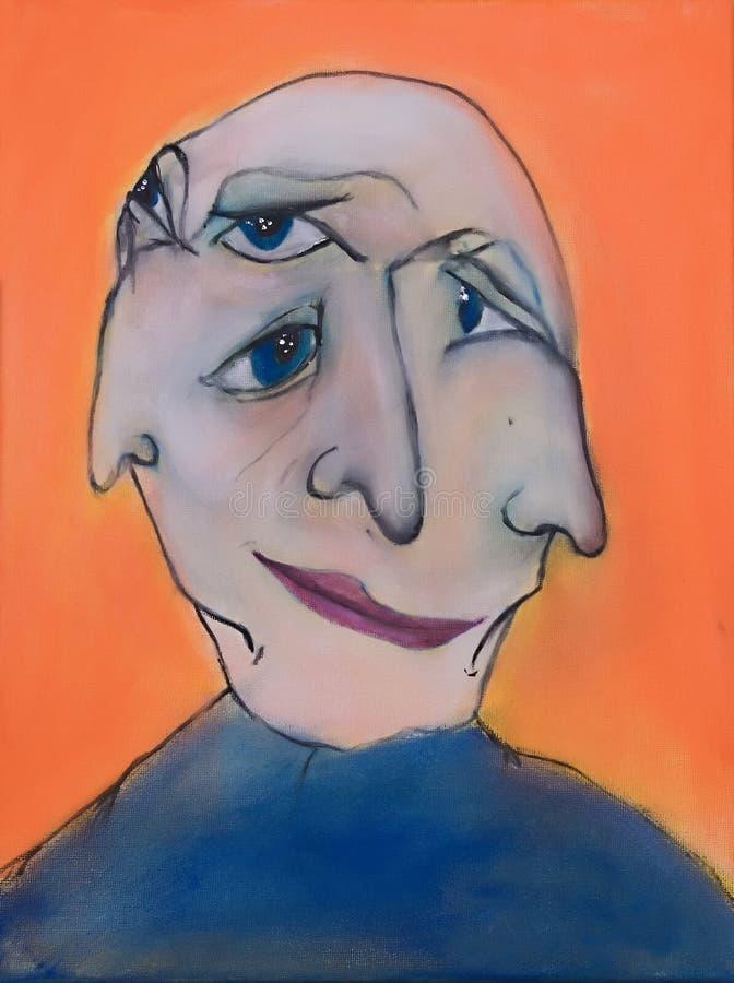 αφηρημένο πρόσωπο ελεύθερη απεικόνιση δικαιώματος