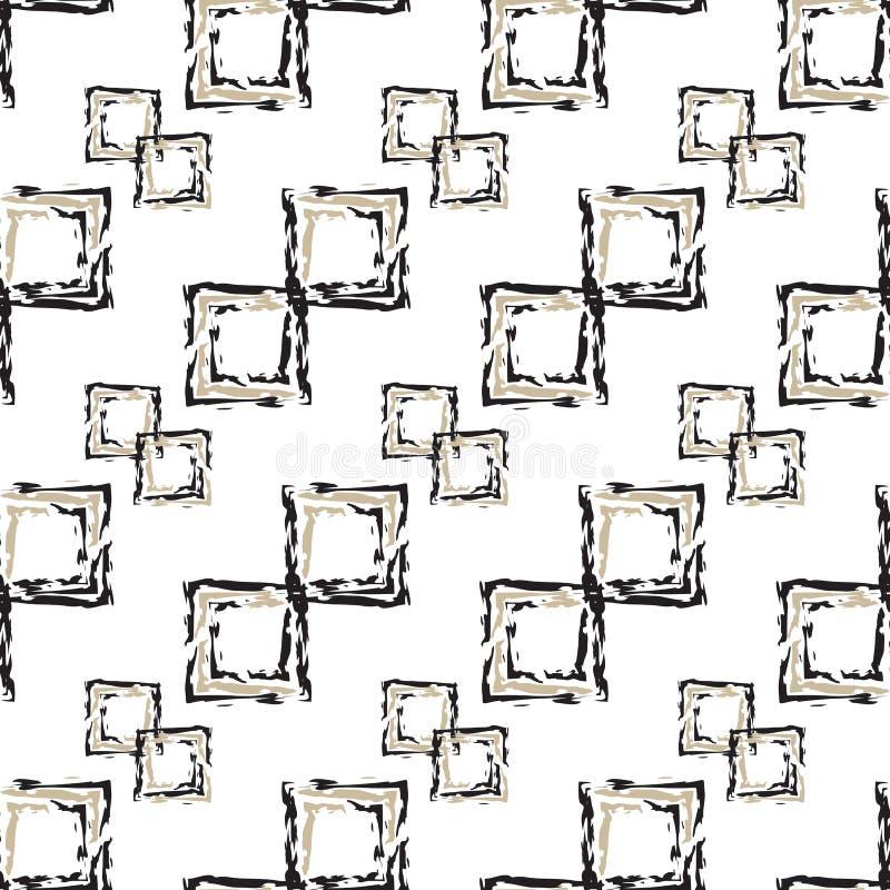 αφηρημένο πρότυπο άνευ ραφής διανυσματική απεικόνιση