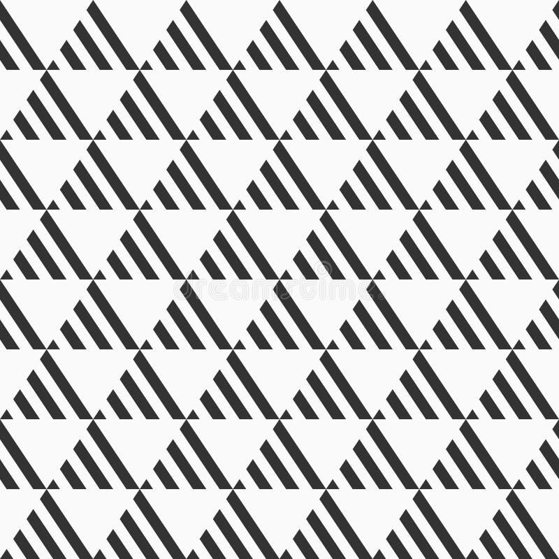 αφηρημένο πρότυπο άνευ ραφή&sig Επανάληψη των γεωμετρικών κεραμιδιών από το λωρίδα ελεύθερη απεικόνιση δικαιώματος
