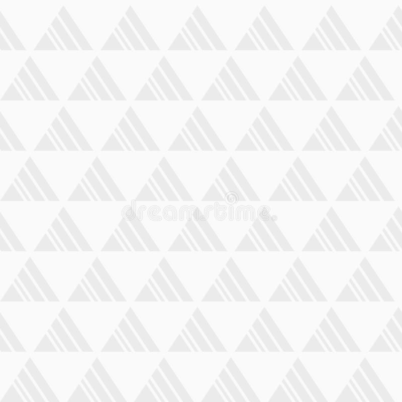 αφηρημένο πρότυπο άνευ ραφή&sig Επανάληψη των γεωμετρικών κεραμιδιών από τα ριγωτά τρίγωνα ελεύθερη απεικόνιση δικαιώματος