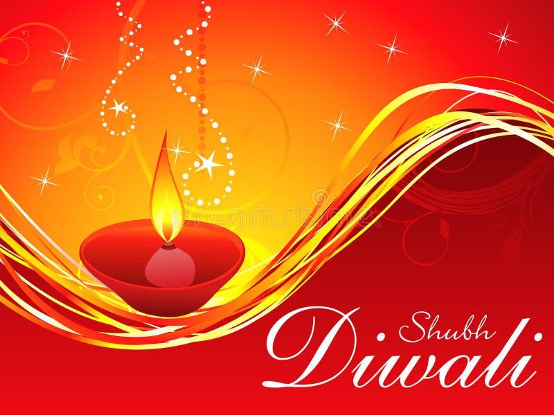 Αφηρημένο πρότυπο ανασκόπησης diwali διανυσματική απεικόνιση