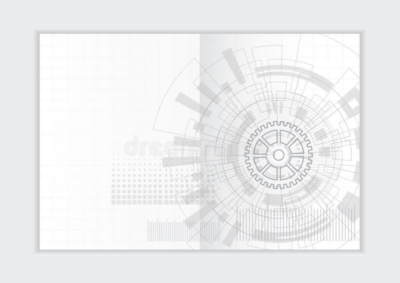 Αφηρημένο πρότυπο ετήσια εκθέσεων υποβάθρου, γεωμετρική κάλυψη επιχειρησιακών φυλλάδιων σχεδίου τριγώνων στοκ φωτογραφία