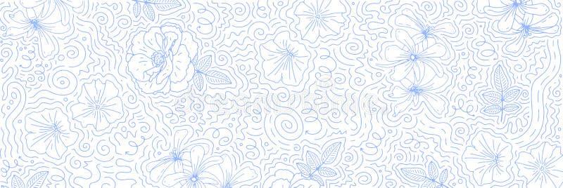 Αφηρημένο πρότυπο σκίτσου με μοντέρνο στυλ Δημιουργική σχεδίαση για φυλλάδιο, εξώφυλλο, μέσα κοινωνικής δικτύωσης, μάρκετινγκ, ba στοκ εικόνες με δικαίωμα ελεύθερης χρήσης