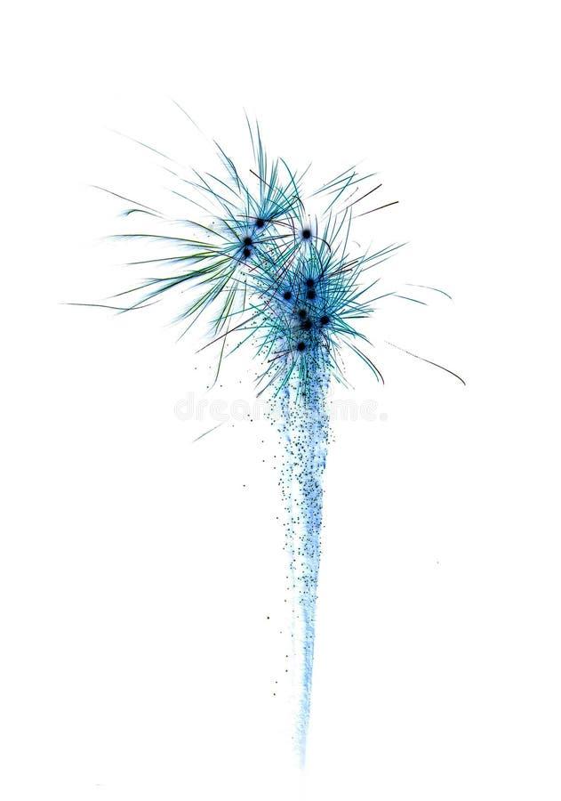αφηρημένο πυροτέχνημα εορτασμού στοκ εικόνες με δικαίωμα ελεύθερης χρήσης