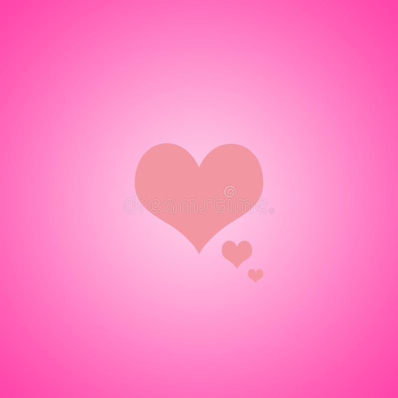 Αφηρημένο ροζ με το κίτρινο σχέδιο σχεδιαγράμματος υποβάθρου καρδιών, Ιστός te ελεύθερη απεικόνιση δικαιώματος