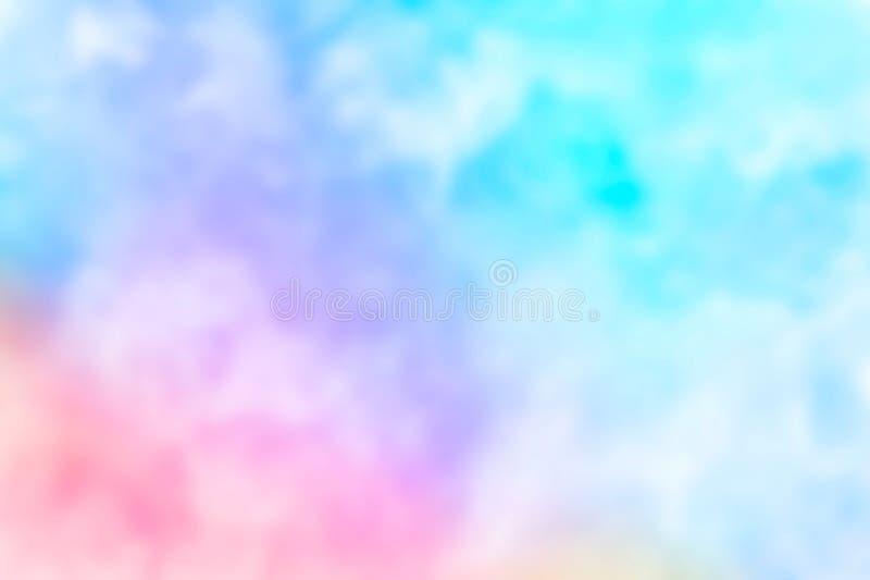 Αφηρημένο ρόδινο μπλε κόκκινο κιτρινοπράσινο ιώδες πορτοκαλί πορφυρό watercolor στο άσπρο υπόβαθρο Το ράντισμα χρώματος στο έγγρα ελεύθερη απεικόνιση δικαιώματος