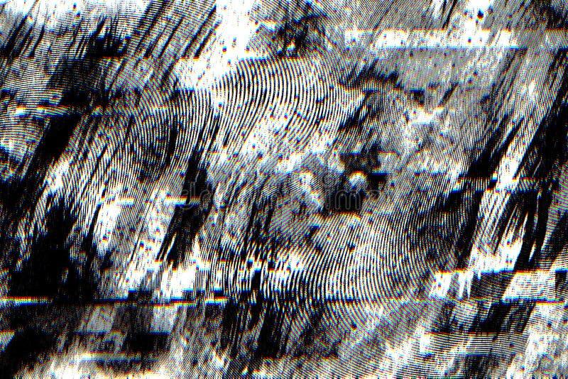 Αφηρημένο σκοτεινό υπόβαθρο με την επίδραση δυσλειτουργίας για το υπόβαθρο στοκ εικόνες