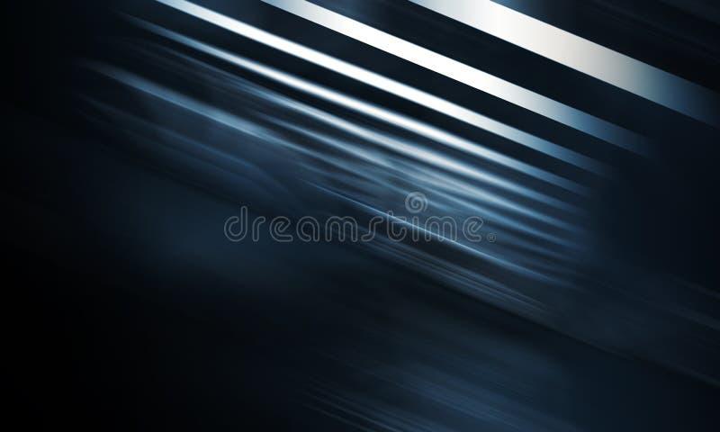 Αφηρημένο σκούρο μπλε ψηφιακό υπόβαθρο απεικόνιση αποθεμάτων