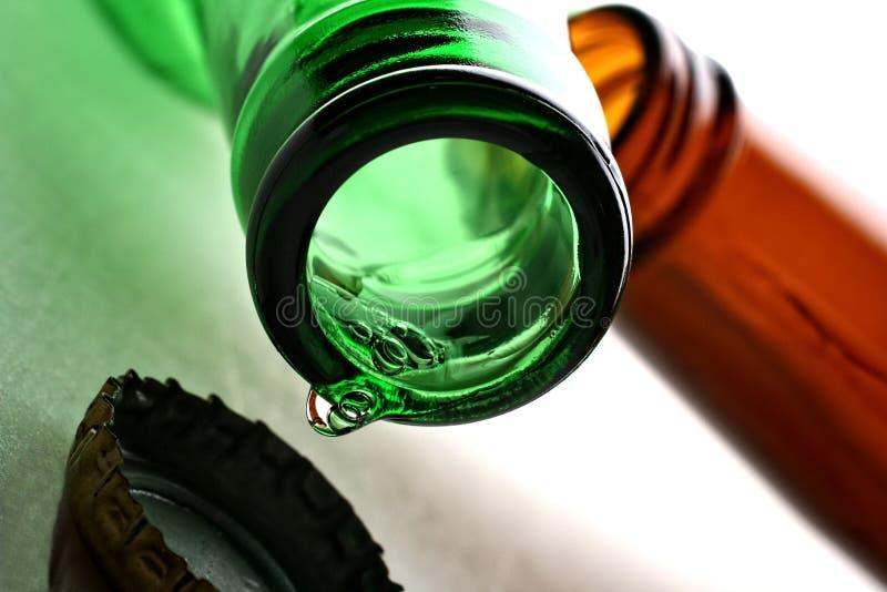 αφηρημένο στάλαγμα μπύρας α στοκ εικόνα με δικαίωμα ελεύθερης χρήσης