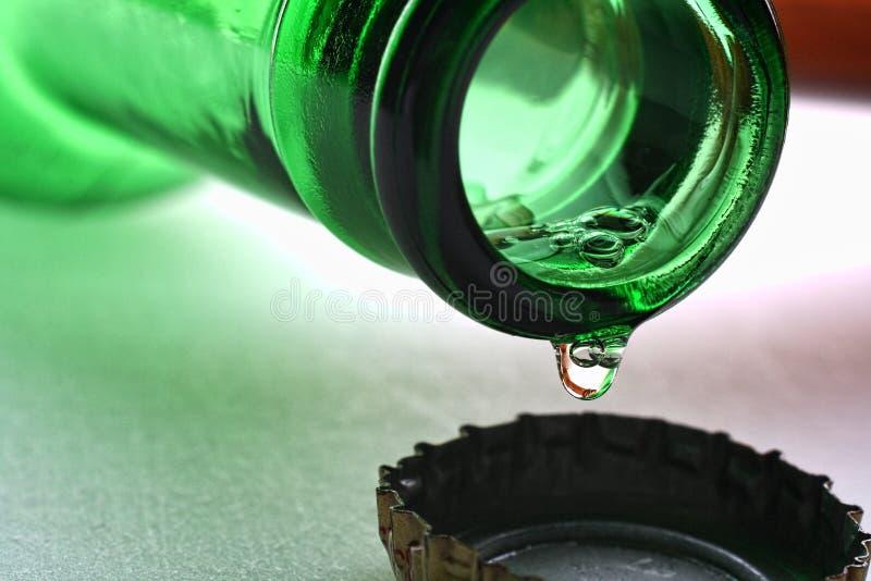 αφηρημένο στάλαγμα μπύρας α στοκ φωτογραφίες με δικαίωμα ελεύθερης χρήσης