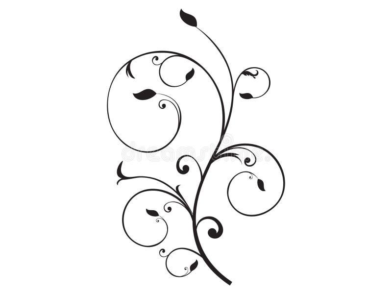αφηρημένο στοιχείο floral απεικόνιση αποθεμάτων