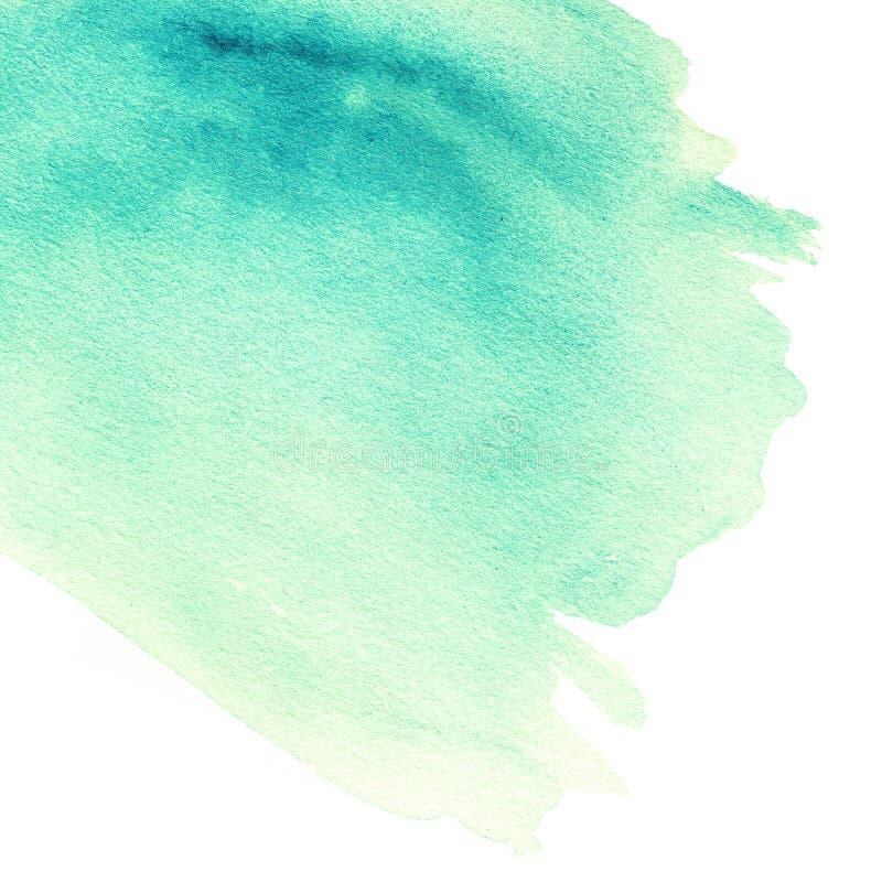 Αφηρημένο συρμένο χέρι watercolour υπόβαθρο Σύσταση χρωμάτων, isola απεικόνιση αποθεμάτων