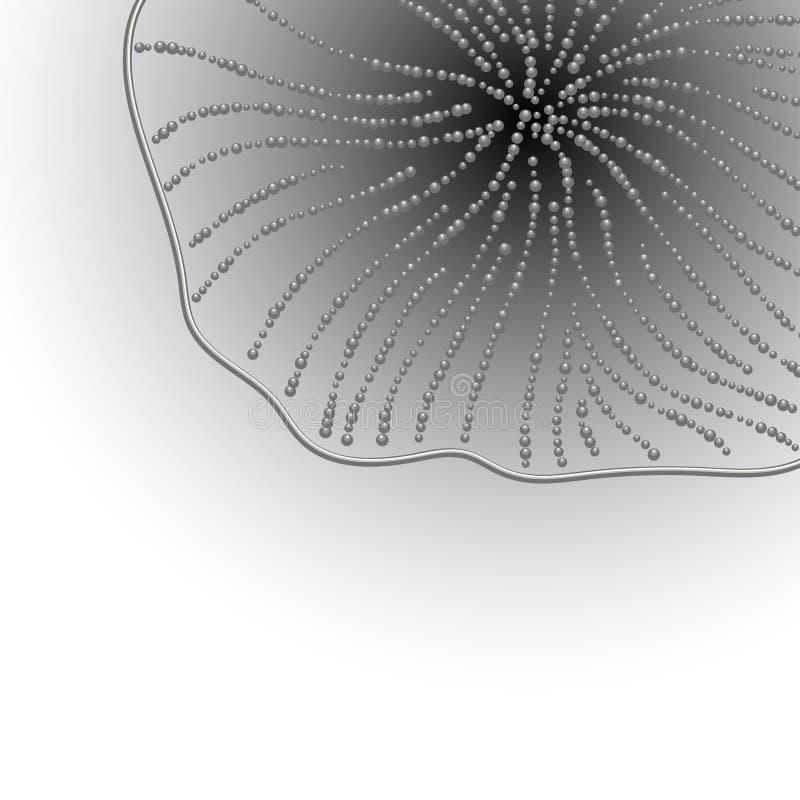 Αφηρημένο σχέδιο επιγραφών απεικόνιση αποθεμάτων