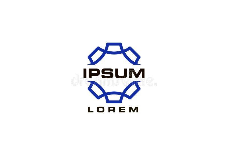 Αφηρημένο σχέδιο λογότυπων διανυσματική απεικόνιση