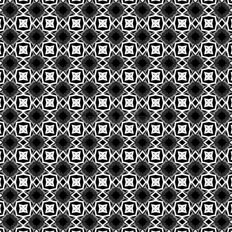 Αφηρημένο σχέδιο μαύρα αστέρια και άσπρες γεωμετρικές μορφές διανυσματική απεικόνιση