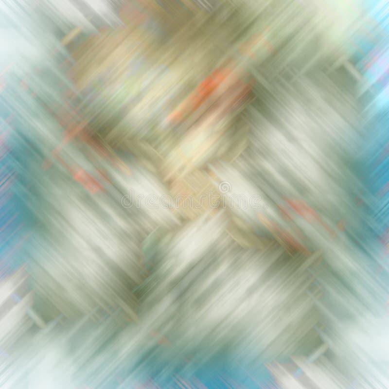 Αφηρημένο σχέδιο 2 υποβάθρου θαμπάδων γκρίζο μπλε ψηφιακό ελεύθερη απεικόνιση δικαιώματος
