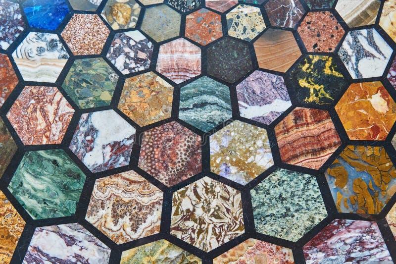 Αφηρημένο σχέδιο υποβάθρου της πολύχρωμης μαρμάρινης πέτρας στοκ εικόνα με δικαίωμα ελεύθερης χρήσης