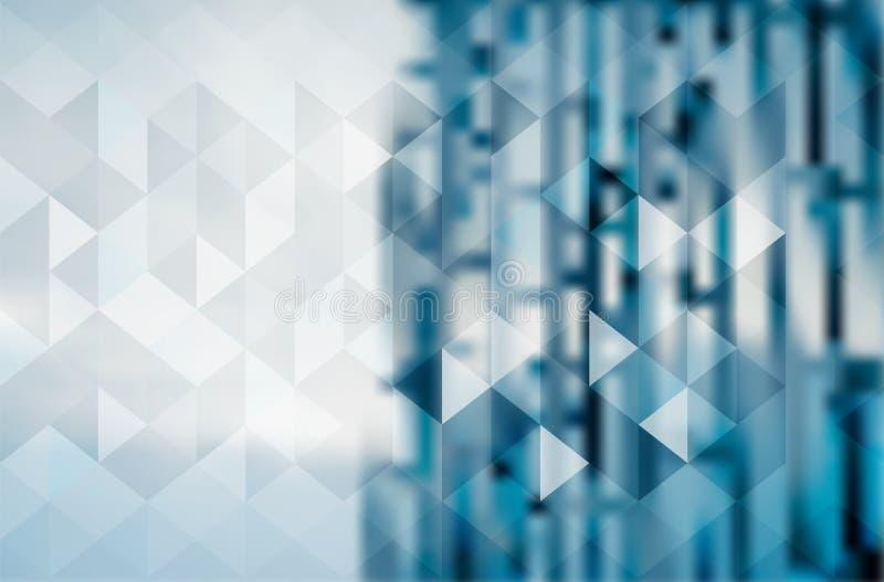 Αφηρημένο σχέδιο επιχειρησιακού υποβάθρου θαμπάδων ψηφιακό ελεύθερη απεικόνιση δικαιώματος