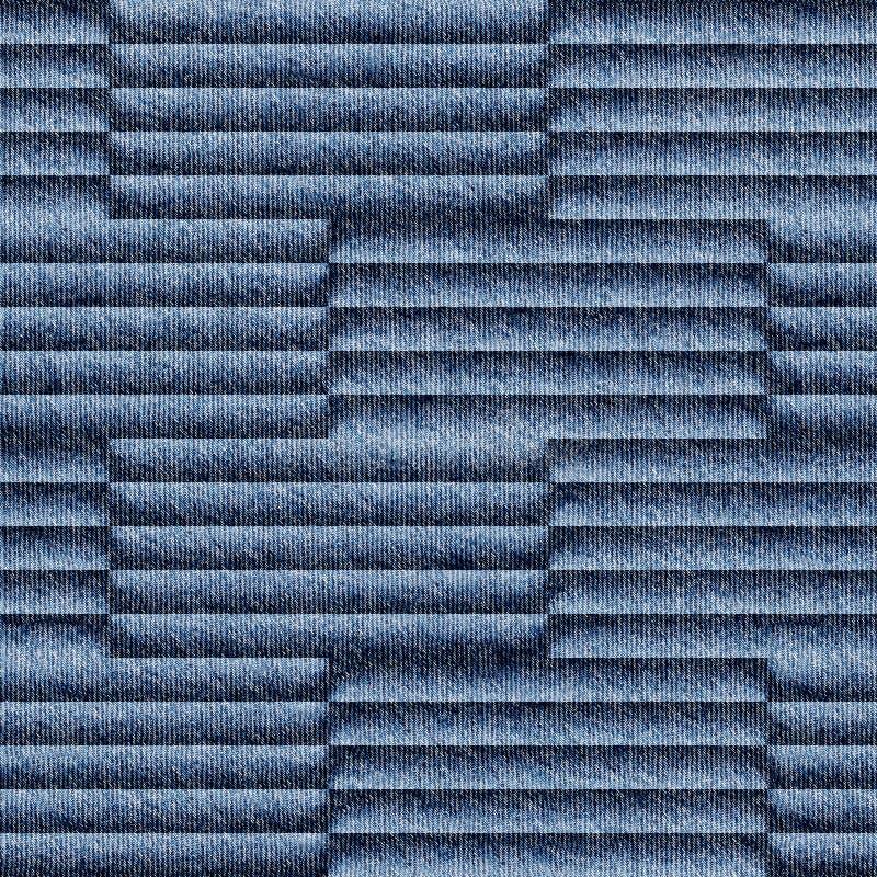 Αφηρημένο σχέδιο ξυλεπένδυσης - άνευ ραφής σχέδιο - μπλε τζιν τζιν στοκ φωτογραφία με δικαίωμα ελεύθερης χρήσης