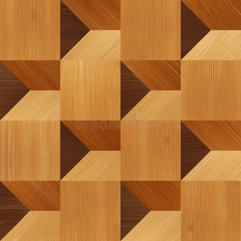 Αφηρημένο σχέδιο ξυλεπένδυσης - άνευ ραφής υπόβαθρο διανυσματική απεικόνιση