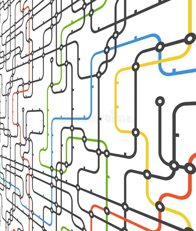 Αφηρημένο σχέδιο σύνδεσης απεικόνιση αποθεμάτων