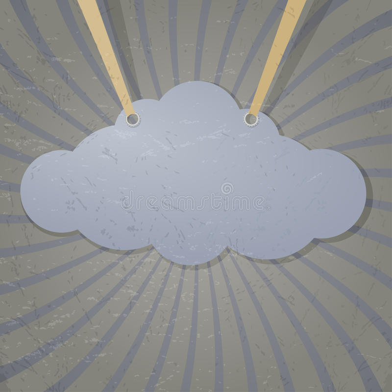 Αφηρημένο σύννεφο Στοκ Φωτογραφίες