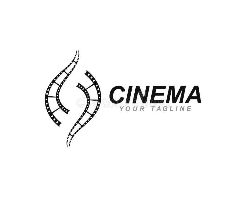 αφηρημένο ταινιών πρότυπο απεικόνισης εικονιδίων διανυσματικό απεικόνιση αποθεμάτων
