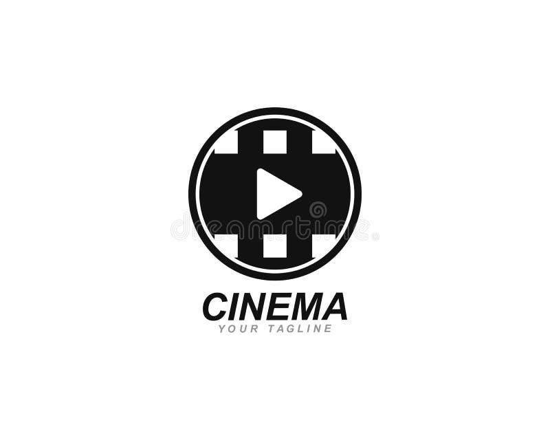 αφηρημένο ταινιών πρότυπο απεικόνισης εικονιδίων διανυσματικό διανυσματική απεικόνιση