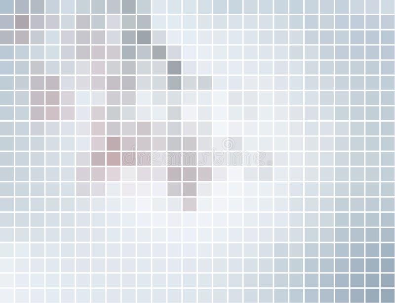 αφηρημένο τετράγωνο μωσαϊ&kapp ελεύθερη απεικόνιση δικαιώματος