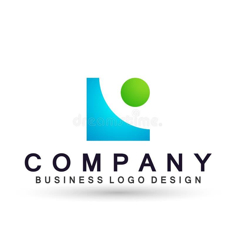 Αφηρημένο τετραγωνικό διαμορφωμένο λογότυπο για την επιχειρησιακή επιχείρηση E Το τετράγωνο τεχνολογίας, δίκτυο, ομάδα ένωσης επε διανυσματική απεικόνιση