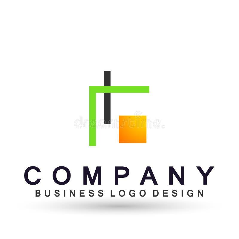 Αφηρημένο τετραγωνικό διαμορφωμένο λογότυπο για την επιχειρησιακή επιχείρηση E Το τετράγωνο τεχνολογίας, δίκτυο, ομάδα ένωσης επε απεικόνιση αποθεμάτων