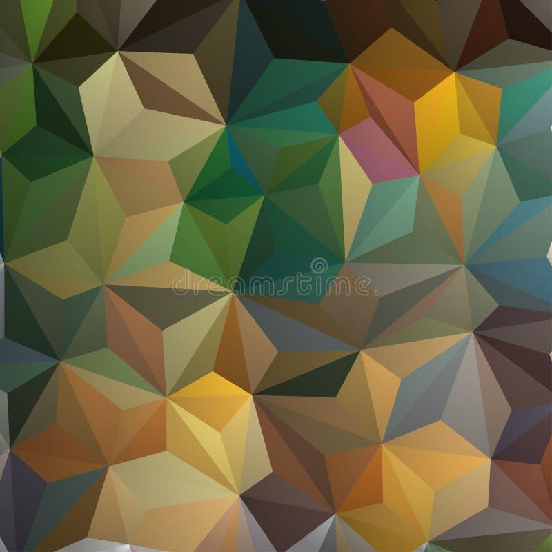 αφηρημένο τρίγωνο ανασκόπη&si διανυσματική απεικόνιση