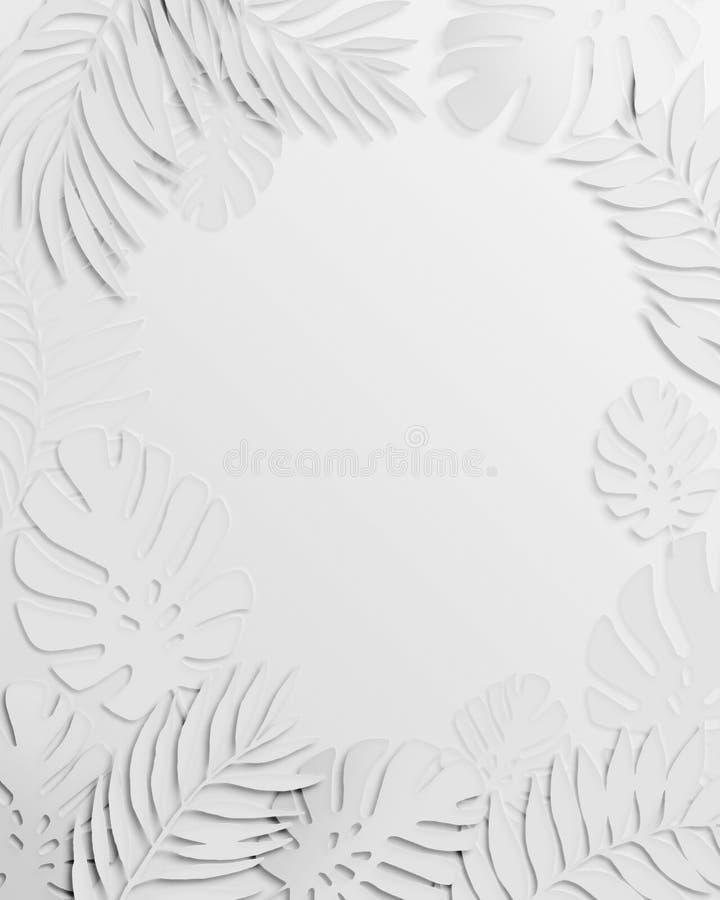 Αφηρημένο τρίγωνο grunge και εξωτικό υπόβαθρο φύλλων εγγράφου απεικόνιση αποθεμάτων
